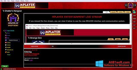 Screenshot MPlayer Windows 8.1