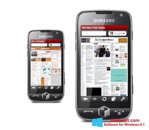 Screenshot Opera Mobile Windows 8.1