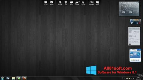 Screenshot RocketDock Windows 8.1