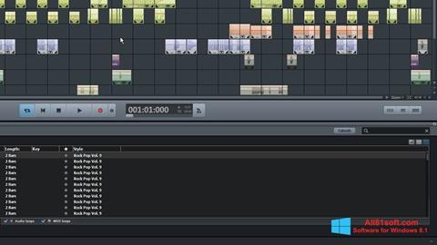 Screenshot MAGIX Music Maker Windows 8.1