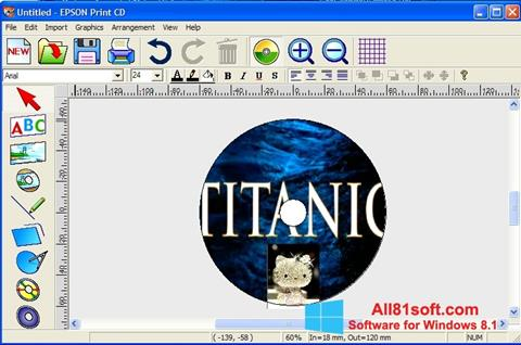 Screenshot EPSON Print CD Windows 8.1
