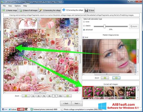 Screenshot Photo Collage Windows 8.1