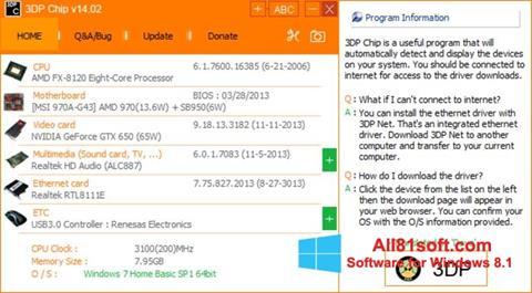 Screenshot 3DP Net Windows 8.1
