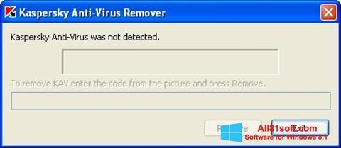 Screenshot KAVremover Windows 8.1