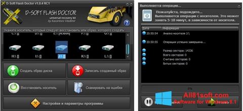 Screenshot D-Soft Flash Doctor Windows 8.1