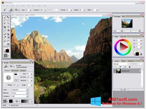 Screenshot Artweaver Windows 8.1