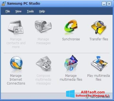 Screenshot Samsung PC Studio Windows 8.1