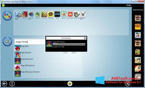 Screenshot BlueStacks Windows 8.1