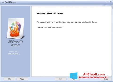 Screenshot ISO Burner Windows 8.1