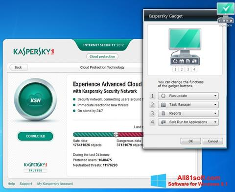 Screenshot Kaspersky Internet Security Windows 8.1