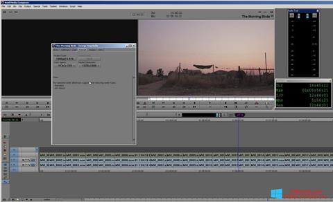 Screenshot Avid Media Composer Windows 8.1