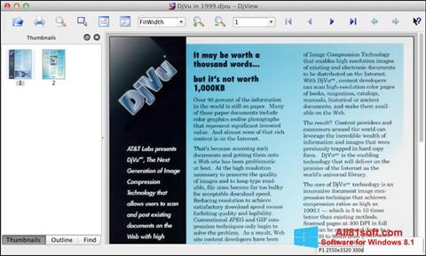 Screenshot DjView Windows 8.1
