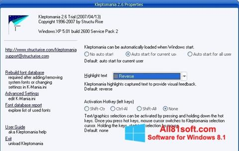 Screenshot Kleptomania Windows 8.1
