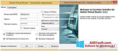 Screenshot Switch Virtual Router Windows 8.1