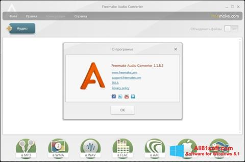 Screenshot Freemake Audio Converter Windows 8.1