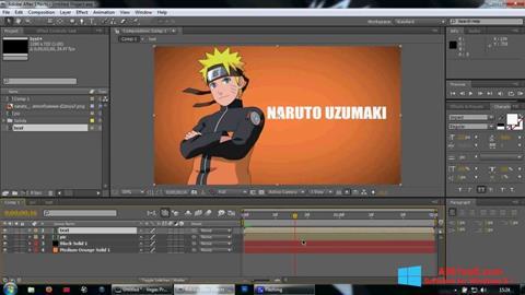 Screenshot Adobe After Effects Windows 8.1