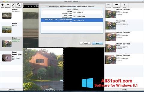 Screenshot IP Camera Viewer Windows 8.1