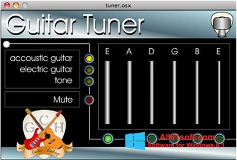 Screenshot Guitar Tuner Windows 8.1