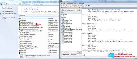 Screenshot Scilab Windows 8.1