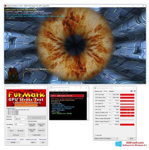 Screenshot FurMark Windows 8.1
