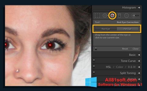 Screenshot Red Eye Remover Windows 8.1