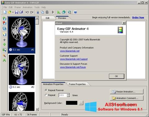 Screenshot Easy GIF Animator Windows 8.1