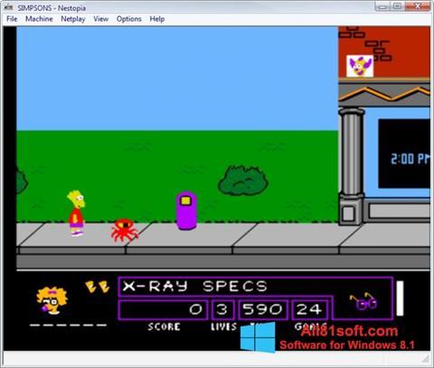 Screenshot Nestopia Windows 8.1