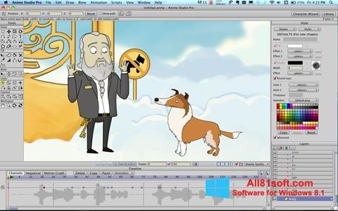 Screenshot Anime Studio Windows 8.1