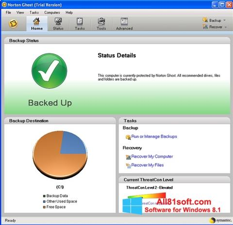 Screenshot Norton Ghost Windows 8.1
