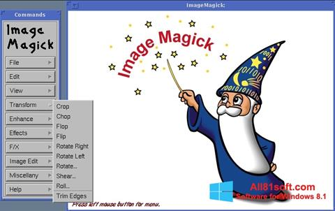 Screenshot ImageMagick Windows 8.1